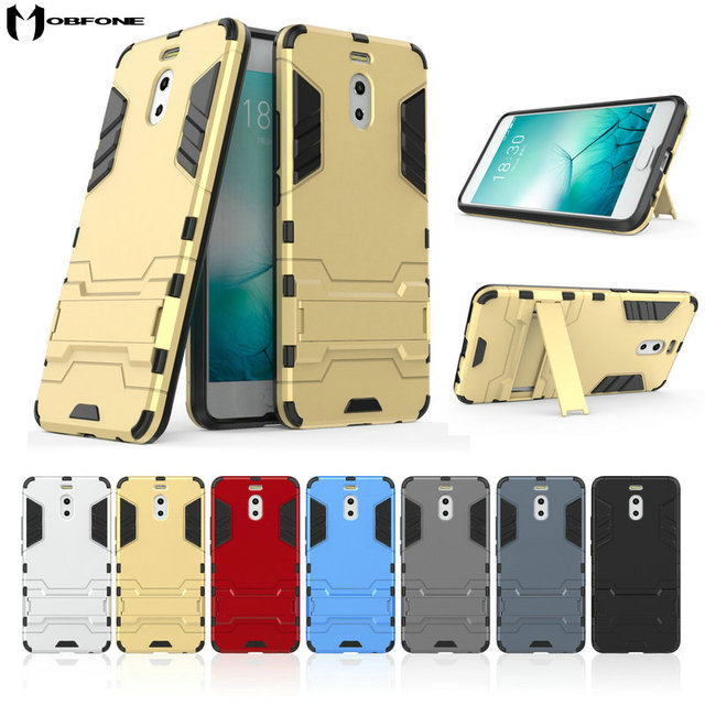 new products 28450 532af US $3.19 20% OFF For Meizu M6 Note, Shockproof Hybrid Kickstand Rugged  Armor PC+TPU Cover Case For Meizu M6 Note (5.5inch) Stand Protective  Cases-in ...