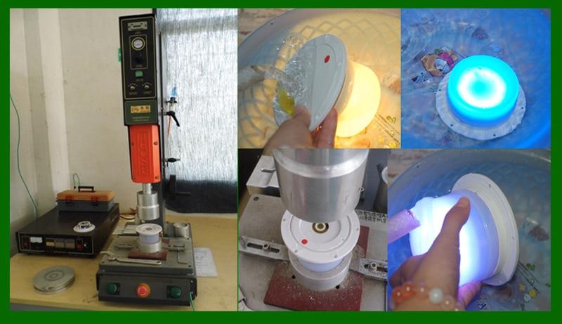 à prova dip68 água decoração lâmpadas mesa