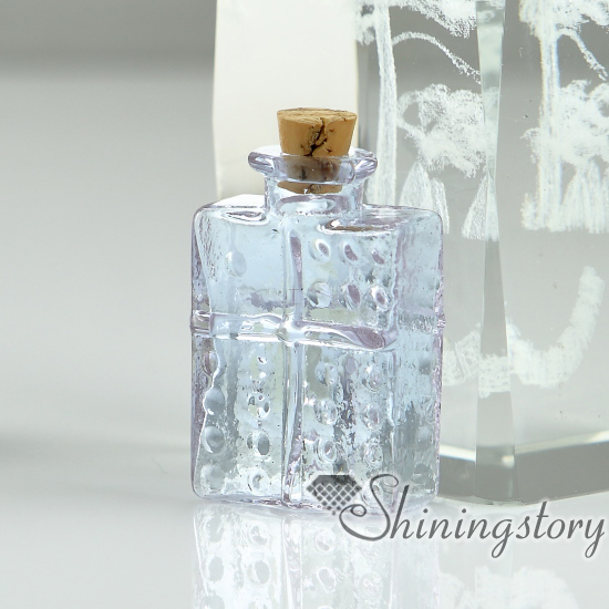 small glass vials for necklaces keepsake cremation urns