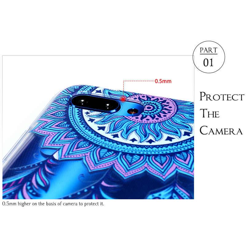 Custodie del telefono Per Sony Xperia L2 L1 XZ1 XZ2 XZ3 Caso Per Sony XZ1 Compatto XZ2 Della Copertura Premium Verniciato Trasparente molle del Silicone di TPU
