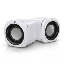 Портативный мини музыкальная стереоколонка Surround громкоговоритель звук системы водостойкий USB динамик s для компьютера Настольный ПК Ноутбук