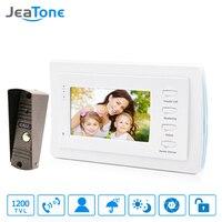 7 Inch Video Door Phone Intercom Bronze Doorbell Home Security System Waterproof Night Vison IR Call
