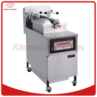 PFE800 Electric Henny Penny Style Pressure Fryer Digital Computer Control Panel And With Oil Pump