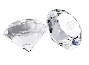 Большой кристалл алмаза