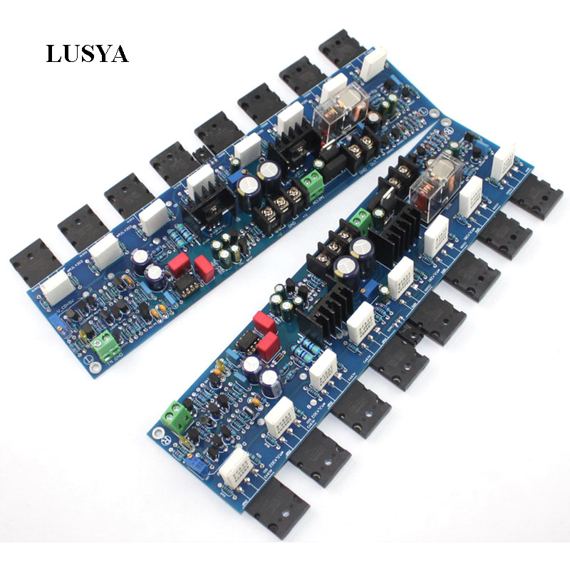 Lusya 1 pair 300W E405 Amplifier Board A1943/C5200 Reference Accuphase Power AMP Circuit Module 2SA1930/2SC5171 2sa1930 a1930 to 220f