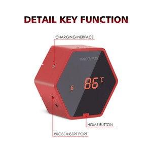 Image 2 - Inkbird IBT 6XS Rode Digitale Thermometer 150ft Bluetooth Draadloze BBQ Thermometer Zes Probe Gratis APP en USB Oplaadbare Batterij