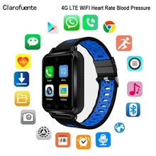 2019 LTE 4G Smart Watch SIM Android Google Market Fitness Heart Rate Blood Pressure Pedometer Cameras GPS WiFi Bluetooth Sports
