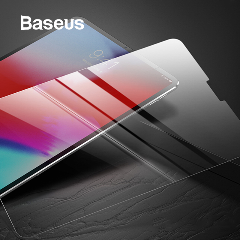 Baseus Screen Protector For Apple iPad Pro 11 12 9 inch 2018 New Model Toughened Protective