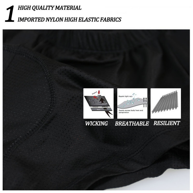 X-tiger 2020 atualizar ciclismo shorts ciclismo roupa interior pro 5d gel almofada à prova de choque ciclismo underpant bicicleta shorts roupa interior 4