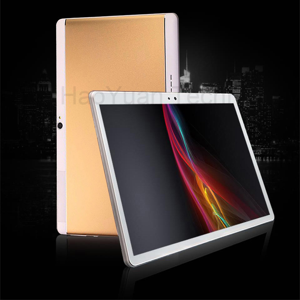 2018 neue 10 zoll 4g Tabletten Octa Core tablet Android 7.0 4 + 64 gb ROM anruf tablet pc 1920*1200 WiFi GPS Bluetooth geschenke 10,1