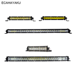 1Pcs 12V 30W 60W 120W 180W 6000K Ultra Slim 7inch 20inch Car Led Light Bar for Jeep Off-road Cars 4WD SUV UTE Pick-up Trucks 4x4