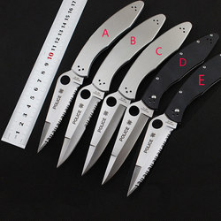 Hot selling police folding knife vg 10 blade all steel or g10 handle camping hunting survival.jpg 250x250