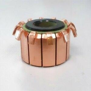 Image 2 - 1PC 8x23x16mm 12P zęby miedziany hak typu silnik elektryczny komutator CP1201A/CHY 2406 12