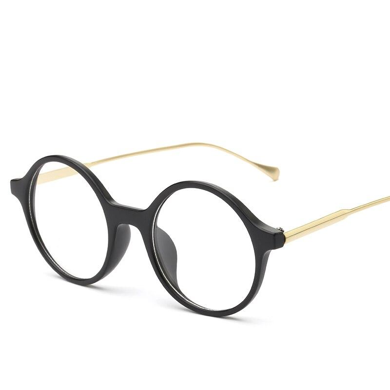J N Womens Optical Retro Eye Glasses Frame For man Eyewear Eyeglasses Vintage With Clear Lens Oculos Feminino Masculino WK862