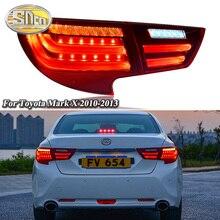 Car LED Tail Light Taillight For Toyota Mark X Reiz 2010 - 2013 Rear Running Light + Brake Light + Reverse Lamp + Turn Signal недорого
