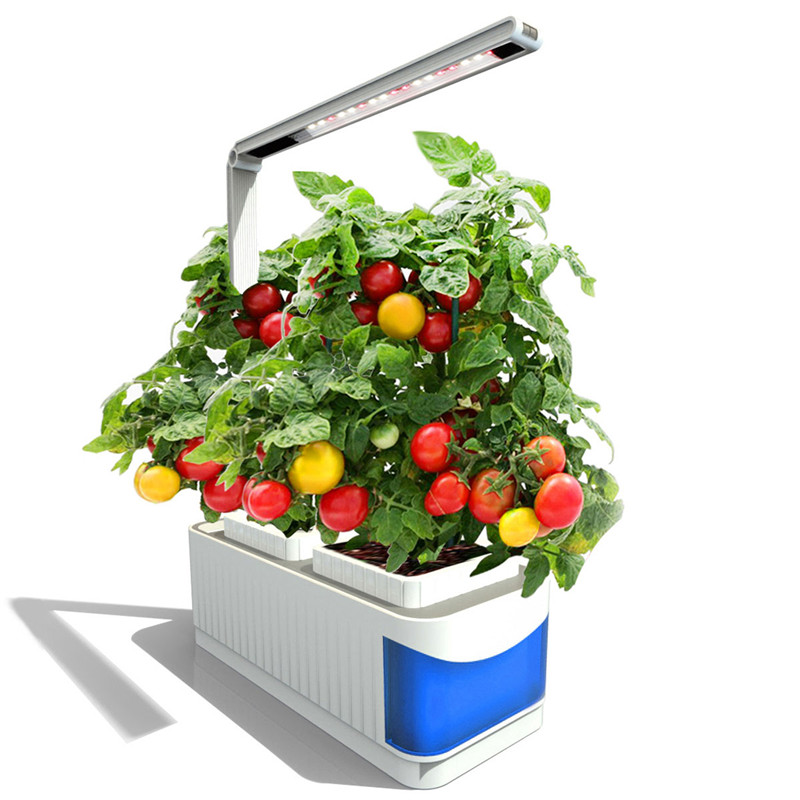 CLAITE LED cultiver des lumières intérieur spectre complet plante lampe herbe plantes hydroponiques jardin Kit lampe réglable lampe levier plantation