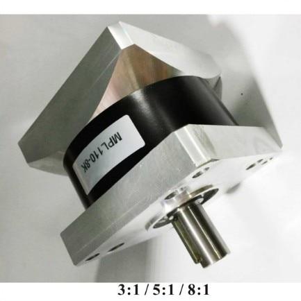Gear ratio3: 1 5: 1 8:1  NEMA42 planetary Gear box for Nema 42 Gear ED Stepper motors 230N. m (31944oz-in) Rated load gear ratio 3 1 5 1 8 1 nema42 planetary gearbox for nema 42 geared stepper motor 230n m 31944oz in rated load