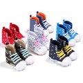 TongYouYuan Детские Unisex Девушки Мальчики Высокий Верх Повседневная Классический Спорт Новый Бренд Обувь Кроссовки для Новорожденных Малышей Первый Ходунки Подошве