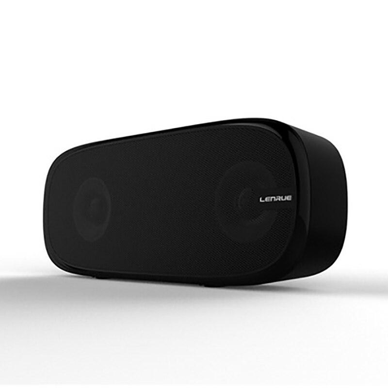 LENRUE Hifi Senza Fili di TF Doppio Bluetooth Speaker Colonna Suono Stereo Mini Portatile Tasca Esterna Bass Audio Vivavoce 1500 mah