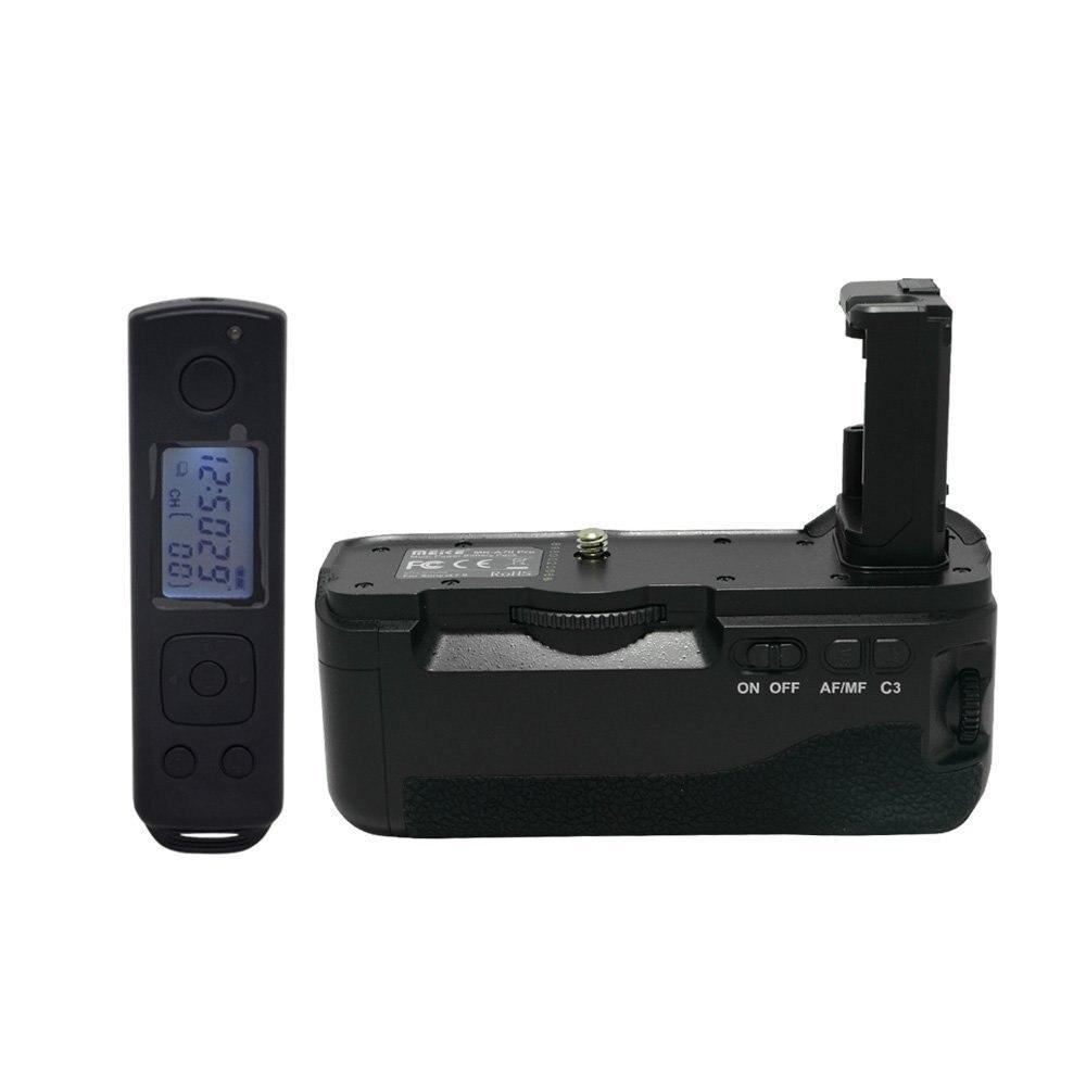 Meike MK-A7II pro built-in 2.4g control inalámbrico de la batería agarre para Sony a7II a7rII a7sII como Sony VG-C2EM