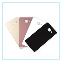 Original Back Door Housing Rear Glass Battery Cover + Adhesive For Samsung Galaxy A3 A310 2016 A5 A510 A7 A710 Back Case Cover