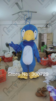 export high quality cartoon MASCOT COSTUMES 2014 hot sale blue bird mascot costumes character eagle mascot costumes for party wi