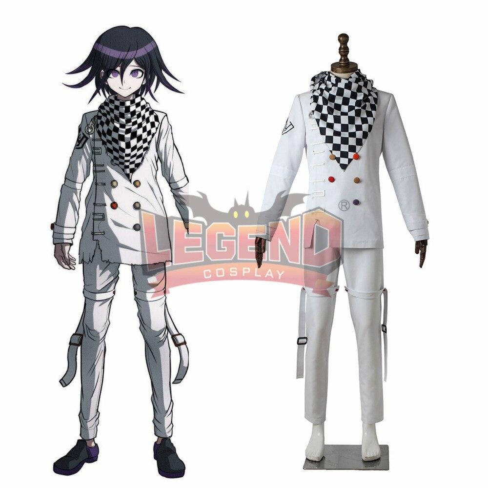 Danganronpa V3 Killing Harmony Ouma Kokichi Cosplay adult costume halloween men costume custom made