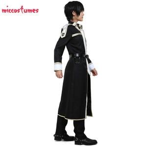 Image 4 - Sword Art disfraz para Cosplay de Kirito para hombre, uniforme de Halloween
