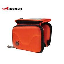 Alforja para la bici ciclismo conveniente cajas del teléfono Bike accesorios frontal Bar manillar bolsas de bicicletas ciclismo Bike Bag 04116