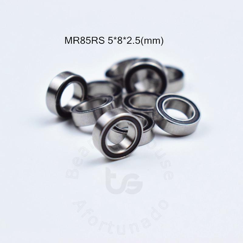 MR85RS free shipping bearing 5*8*2.5(mm) ABEC-5 Rubber Sealed Miniature Mini Bearing MR85 MR85RS free shipping 10 pcs open type mr85 bearings 5x8x2 5 mm miniature ball bearings l 850 mr85