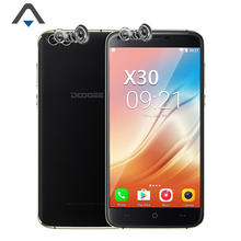 Doogee X30 MTK6580A Android 7.0 Quad Core 2GB RAM 16GB ROM 5.5 inch 8MP 720P HD 3360mAh four cameras curved edges 2.5D glass