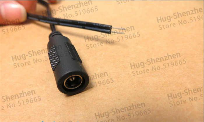 30 см DC мощность Женский Соединительный шнур питания плоский кабель Размер 5,5*2,1 разъем питания для мониторинга, светодиодный свет -- 20 шт.