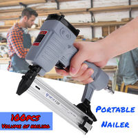 F30F Plastic Collated Framing Air Nailer Pneumatic Nail Gun Framer 10 30mm