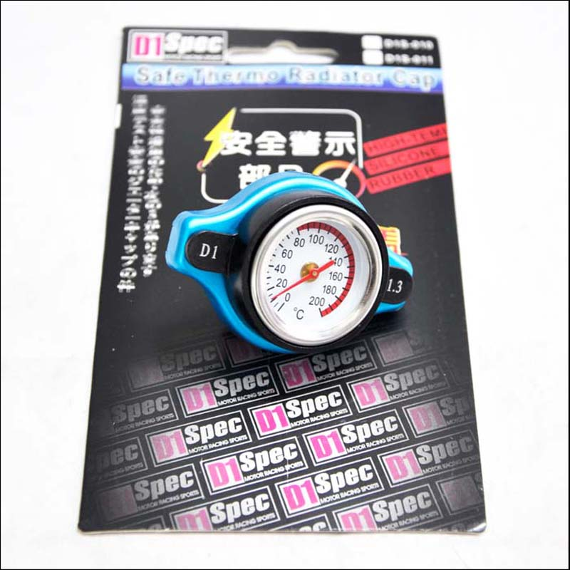 Free Shipping Temperature Gauge with Utility safe 0.9 and 1.1 and 1.3 bar Thermo Radiator Cap Tank Cover