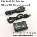 AC Adapter Power Supply AC Charger With USB Data Cable  for Sony PlayStation Vita PS VITA 2000 EU Plug and USA Plug