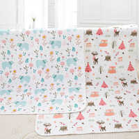 Baby Changing Mat Portable Washable Newborn Infant Foldable Mattress Waterproof Reusable Outdoor Play Mat Baby Wipes 50*70CM