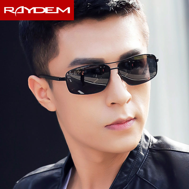 Image 4 - Polarized Men's Vintage Sunglasses Aluminum Sun Glasses Goggle Eyewear Accessories For Men-in Men's Sunglasses from Apparel Accessories