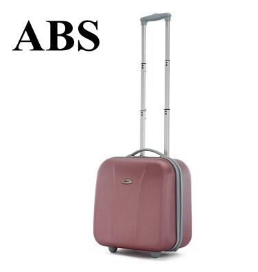 17 Inch Women Cabin Luggage Bag On Wheels Wheeled Rolling Trolley Bags Business Travel For Men Carry Suitcase In From