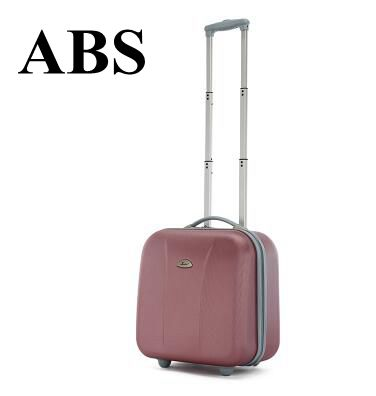 17 Inch Women Cabin Luggage Bag on wheels wheeled B