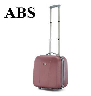 17 인치 여성 캐빈 수하물 가방 바퀴에 바퀴 가방 롤링 트롤리 가방 비즈니스 여행 가방 남자에 대 한 짐 가방에 운반-에서여행 가방부터 수화물 & 가방 의  그룹 1
