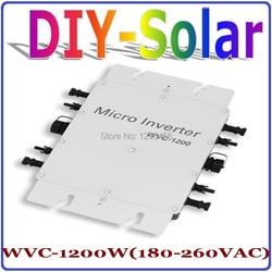 1200 W MPPT Grid Tie Omvormer 36 V 220 V  22-50VDC om AC180-260V Pure Sinus Omvormer 1200 W Thuisgebruik zonnestelsel