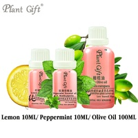 100 Pure Plant Essential Oils Argentina Imports Lemon Peppermint Olive Oil Skin Care Soften Skin Constipation
