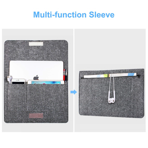 Image 2 - MOSISO Ultra Soft Sleeve Laptop Bag Case For MacBook Lenovo Dell HP Asus Computer Notebook Bag For Mac Book Air 13 Pro 13 Cover