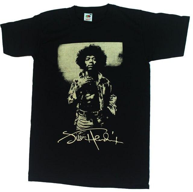 d0cb5d11a5f Jimi Hendrix Black T-shirt Cream Print Jimmy Hendrix Purple Haze 100%  Cotton Short Sleeve O-Neck Tops Tee Shirts Fashion 2018