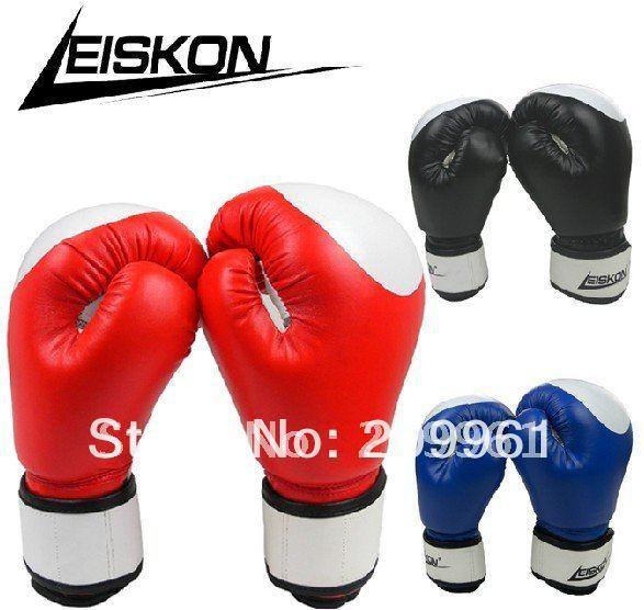 Leiskon high quality Training fighting boxing gloves mitts mitten sandbag glove Sanshou gloves