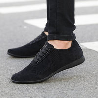 Autumn/Winter Men Shoes Fashion Low Casual Shoes Men Canvas Shoes High Quality Black Dress Shoes Men Sneakers Zapatillas Hombre