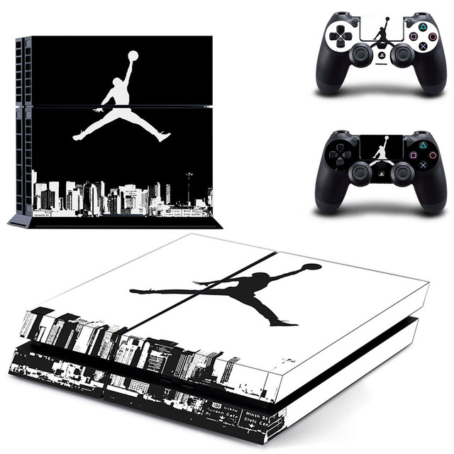 c166f467f00e 23 Air Man Jordan PS4 SKin Sticker Decal For Sony PlayStation 4 Console and  Controllers for Dualshock 4 PS4 Skin Sticker Vinyl
