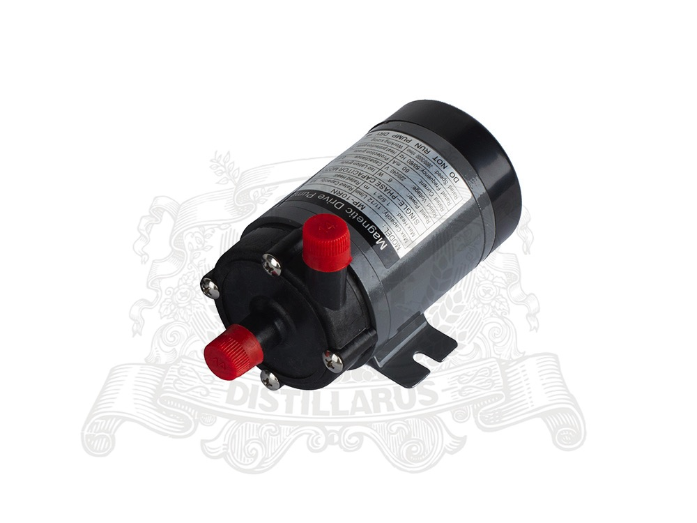 Magnetic Drive Pump MP10  220V.  Heat resistance 120 C. Connection 14mmMagnetic Drive Pump MP10  220V.  Heat resistance 120 C. Connection 14mm