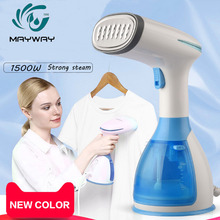 купить 1500W 280ml Handheld Mini Garment Steamer For Clothes Home Travel Portable Steam Iron Garment Steamer plancha a vapor para ropa дешево