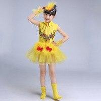2018 Girls Ballet Dress For Children Dance Costume Gymnastics Leotard Dance Tutu Dress Dancewear Kids Child